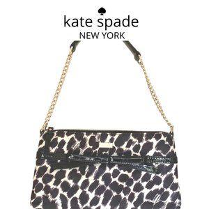 Rare Kate Spade Lindenwood Leopard Elena Bag